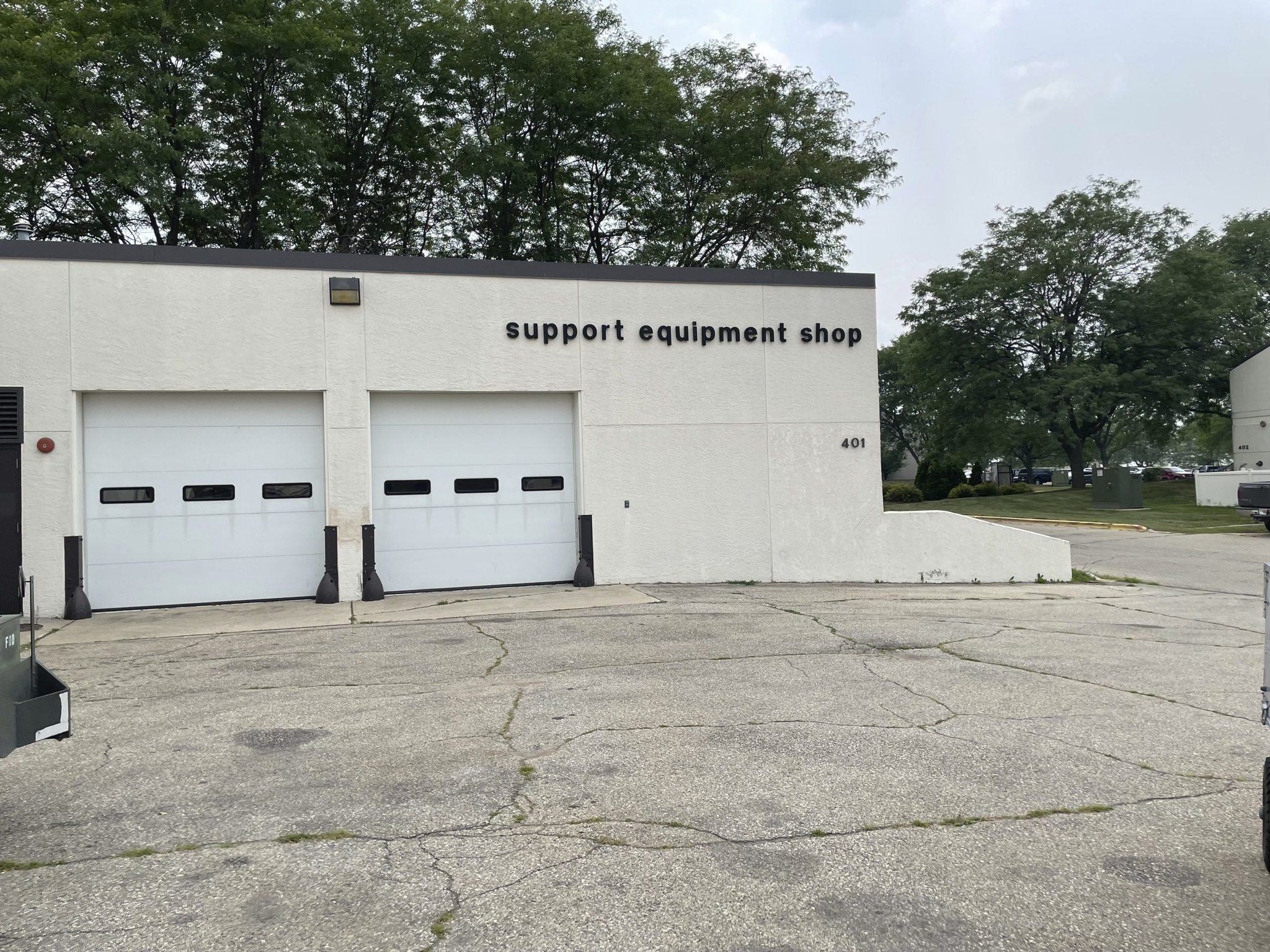 Wisconsin Air National Guard 115th Fighter Wing support equipment shop